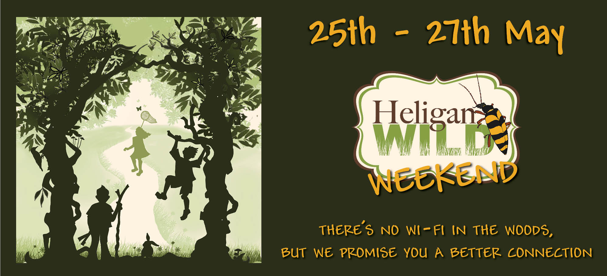 Heligan Wild Weekend -