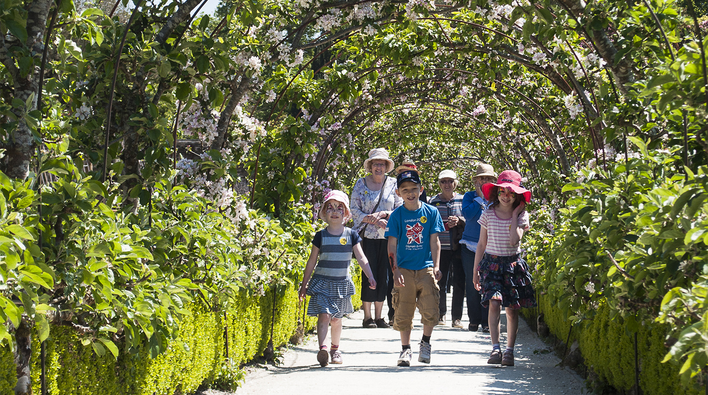 Families At Heligan The Lost Gardens Of Heligan